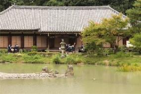 浄瑠璃寺本堂を見学