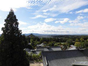 奈良公園・二月堂からのすばらしい眺め