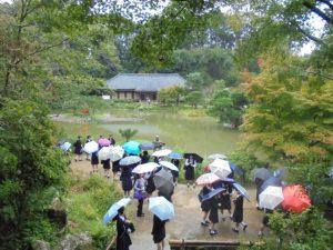 最初の見学地、浄瑠璃寺