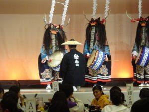 郷土芸能(鹿踊り)